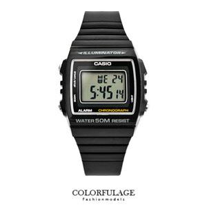 CASIO卡西歐全黑運動電子錶