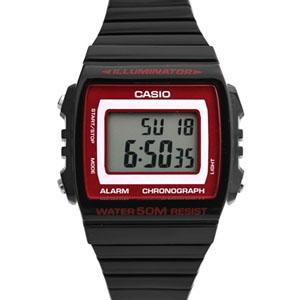 CASIO卡西歐黑紅運動電子錶