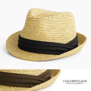 防曬遮陽透氣藤編帽