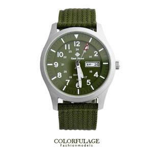 搭載SEIKO石英機芯帆布手錶