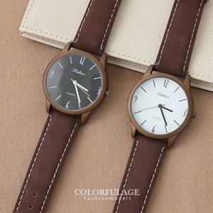 簡約復刻版霧面中性手錶