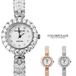 Valentino范倫鐵諾珍珠貝鑽錶
