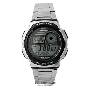 CASIO卡西歐仿飛機儀表板腕錶