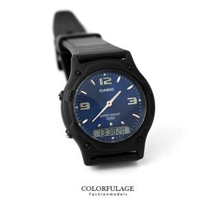 CASIO卡西歐輕量雙顯電子手錶