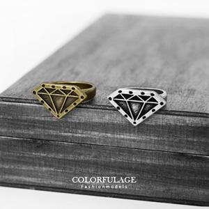 復古寶石/鑽石造型戒指