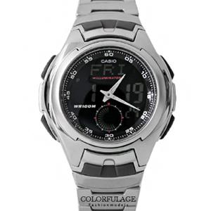 CASIO卡西歐數位雙顯手錶