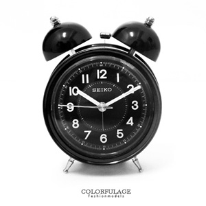 SEIKO簡約色大聲公造型鬧鐘