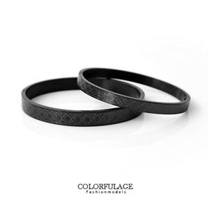 英式風格黑手環