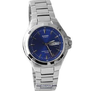 CASIO卡西歐耀眼藍不鏽鋼錶