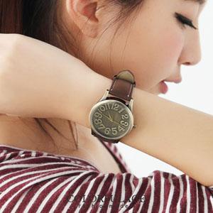 麂皮錶帶熱銷韓國手錶