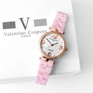 Valentino范倫鐵諾珍珠陶瓷錶