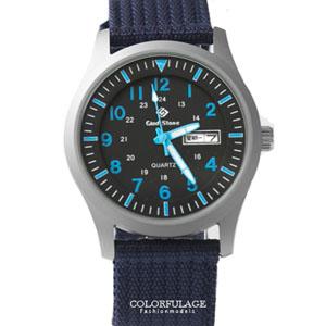 手錶帆布錶搭戴SEIKO機芯