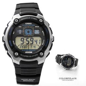 CASIO卡西歐藍仿儀表板錶