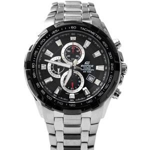 EDFICE系列三眼鋼賽車錶