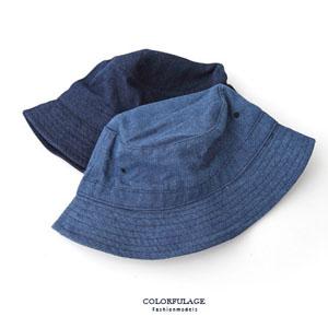 丹寧牛仔布帽戶外遮陽帽