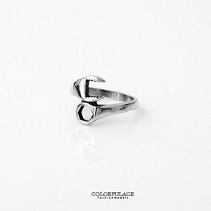 創意螺絲起子造型白鋼戒指