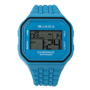 JAGA捷卡方型運動電子錶