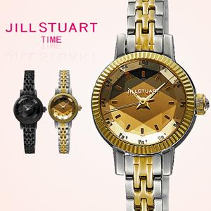 JILLSTUART小圓貝面鐵錶