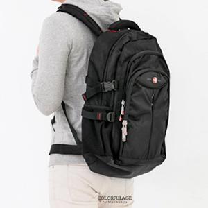 17吋筆電尼龍減壓後背包