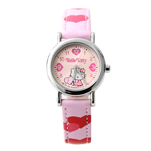 Hello Kitty凱蒂貓愛心數字錶