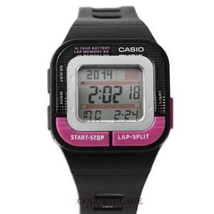CASIO卡西歐輕巧桃色電子錶