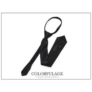 明星藝人最愛窄版緞面領帶
