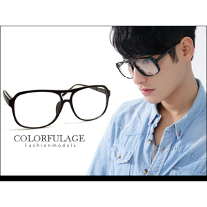 低調霧面黑膠框眼鏡鏡框