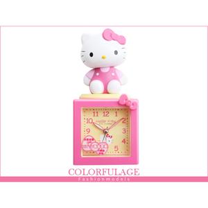Hello Kitty搖擺公仔鬧鐘.時鐘