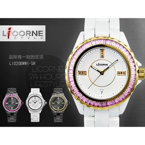 力抗LICORNE精密陶瓷手錶
