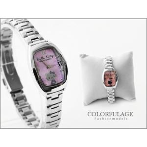 Hello Kitty全不銹鋼錶帶手錶