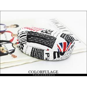 半月形英倫國旗眼鏡盒