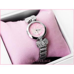 Hello Kitty滿鑽俏麗蝴蝶結手錶