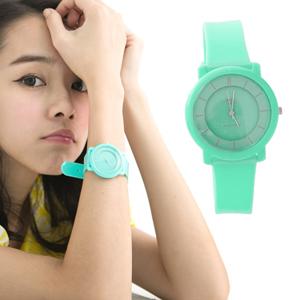馬卡龍手錶 矽膠中性錶