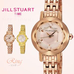JILL STUART 切割鏡面手錶