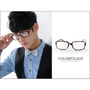 黑膠框復古版眼鏡框