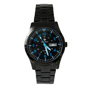 搭載SEIKO機芯藍色刻度手錶