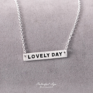 925純銀百搭LOVELY DAY項鍊