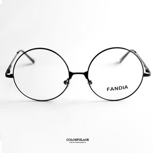 復古金屬圓框細邊光學眼鏡