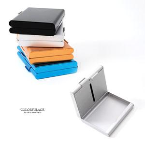雙面側掀式名片盒香菸盒