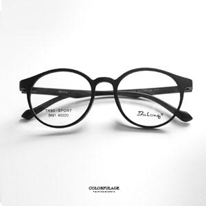 復古霧面鏡框中性光學眼鏡