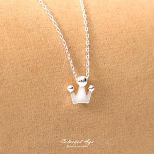 925純銀皇冠造型項鍊