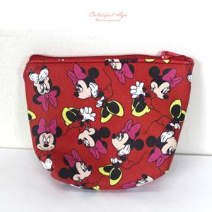 正版迪士尼Disney皮革收納包
