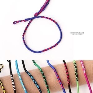 手工編織幸運繩腳環手環(AB11)