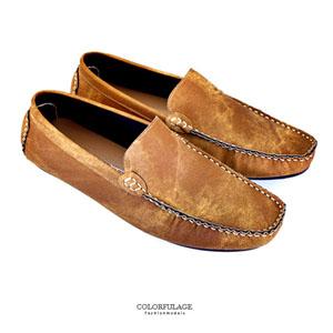 嚴選柔軟布面百搭豆豆鞋