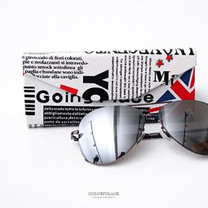 眼鏡盒 英倫國旗摺疊眼鏡盒