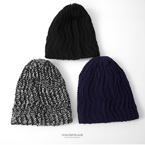 毛帽 MIT長版遮耳針織帽