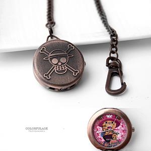 懷錶 海賊王玫瑰金戴帽喬巴