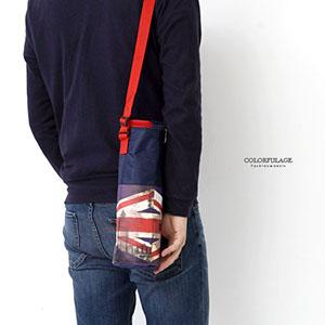 水壺袋 英倫國旗保冷保溫袋