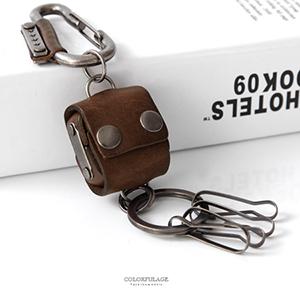 鑰匙圈 小書包內藏四顆骰子