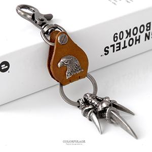 鑰匙圈 霸氣老鷹利爪墜飾